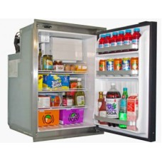 Nova Kool R5810DC 12-24 Volt 162L Marine Fridge/Freezer - Single S/S Door - Suitable for Boats, Caravans, Motorhomes and RVs (R5810DC)