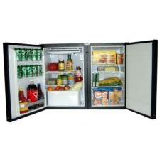 Nova Kool RFS6500DC 12-24 Volt 181L Two Door Marine Fridge/Freezer Suitable for Boats, Caravans, Motorhomes and RVs (RFS6500DC)