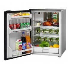 Isotherm CR130 DRINK Inox Stainless Steel Matched Drinks Fridge - 12 or 24 Volts - 130 Litre Fridge Only - Left Hand Door Hinge - 1130BA1NK (381710)