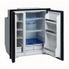 Isotherm CR200 Cruise Grey Line Two Door Side by Side Fridge/Freezer - 12 or 24VDC and 240VAC - 150 Litre Fridge and 50 Litre Freezer - Two Grey Doors -  1200BB4WA (381688)