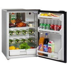 Isotherm CR130 DRINK Cruise Matched Drinks Fridge - 12 or 24 Volts - 130 Litre Fridge Only - Changeable Left or Right Hand Grey Door 381752 (1130BA1AA)