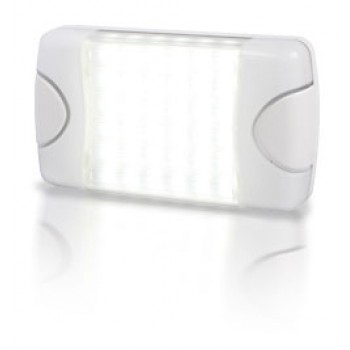 Hella DuraLED 20 LED Multi-purpose Light - White Housing with Cool White LED Light (2JA980608001)