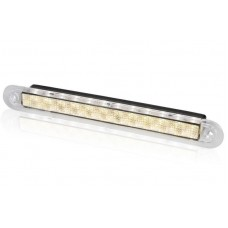 Hella Waiheke Warm White LED Recessed Strip Light - Wide with No Rim - 12V - Downlight or Cockpit Lighting (2JA959076561)