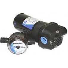 Jabsco Par-Max 4 Multi-Purpose Diaphragm Pump - 12 Volt - 16.3LPM - 6 Amp - Continuously Rated - Suits Shower Drain, Bilge, Diesel or Livewell Circulation - Suits 20mm Hose - 31705-0092 (J40-100)