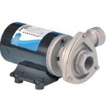 Jabsco Cyclone Circulation Pump - 12 Volt - 110LPM - 8 Amp - Stainless Head - High Flow , Long Life Centrifugal Pump - Not Self Priming - 50840-2012 (J40-167)