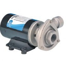Jabsco Cyclone Circulation Pump - 24 Volt - 110LPM - 4.5 Amp - Stainless Head - High Flow, Long Life Centrifugal Pump - Not Self Priming - 50840-2024 (J40-168)