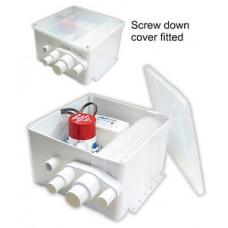 Rule 800 GPH Shower Sump Drain Kit - 24 Volt (RWB1399)