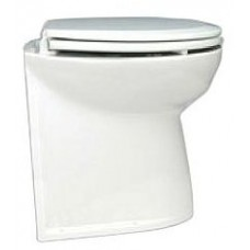 Jabsco Deluxe Silent Flush Electric Toilet - 24V - Compact Height - Vertical Back - Fresh Water Flush (J10-145)