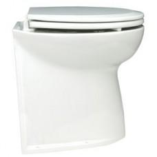 Jabsco Deluxe Silent Flush Electric Toilet - 12V - Household Height - Vertical Back - Fresh Water Flush (J10-135)