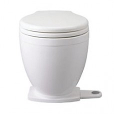 Jabsco LITE-Flush Toilet - 12 Volt - With Footswitch Control - Fresh or Salt Water Flush (J10-152)