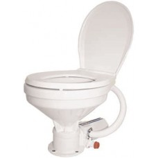 TMC Electric Marine Toilet - 12 Volt 20 Amp - Large Bowl Toilet (RWB2324)