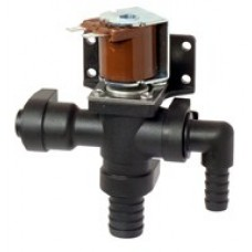 Jabsco 24V Solenoid Valve and Siphon Break Assy - Suits Deluxe Silent Flush Electric Toilet - 37038-1024 (J16-201)