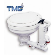 TMC Manual Marine Toilet - Vertical Pump - Small Bowl Toilet (139110)
