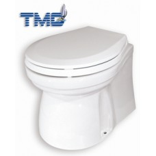 TMC Deluxe Electric Toilet - Large Bowl with Low Profile - 12 Volt - 20 Amp (139118)