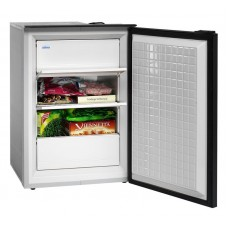 Isotherm CR90F Cruise Matched Freezer - 12 to 24 Volt DC - 90 Litre - Changeable Left or Right Hand Hinge - Grey Door 1090BC1AA (381754)