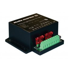 Hella Marine 2 Group Light Dimmer - Precise Control for 1 or 2 Light Groups - 12V and 24V DC (5XA 998 572 001)