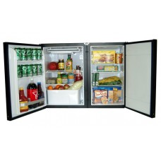 Nova Kool RFS6100 12-24 Volt 160L Two Door Marine Fridge/Freezer Suitable for Boats, Caravans, Motorhomes and RVs (RFS6100)