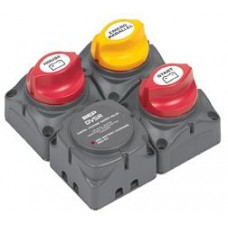 BEP Marinco Battery Switch Cluster with Digital VSR - 113684 (SUR 716-SQ-140A-DVSR)