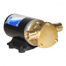 """Jabsco Water Puppy 2000 Pump - Commercial Duty - 12 Volt - 32LPM - 13 Amp - Continuously Rated - Suits Bilge, Deckwash or General Purpose - 1/2"""" BSP and 1"""" Hose - 23680-4003  (J40-110)"""