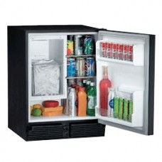 U-Line Marine Ice Maker Combo - C029- BLACK - Ice Maker and Fridge - Makes 11.3Kg Ice per Day - Holds 5.9Kg Ice - (493/C029B-20A)