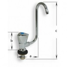 Chrome Plated Brass Faucet With  Single Mini Tap (134304)