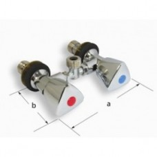 Shower Mixer Mini Taps - No Hose (134306)