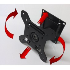 TV Bracket - Swivel Wall Mount Bracket - Adjustable and Removable for Multiple Locations - VESA 75-100mm Mounting (SD7015A)