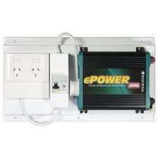 Enerdrive ePower 400W 12V True Sine Wave Inverter 12V DC to 240V AC - With RCD and GPO (RCD-GPO-EP400W)
