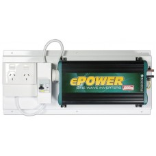 Enerdrive ePower 1000W 12V True Sine-wave Inverter 12V DC to 240v AC with GPO and RCD (RCD-GPO-EP1000W)