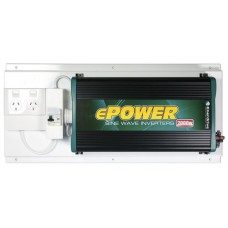 Enerdrive ePower 2000W 12V True Sine-wave Inverter 12V DC to 240v AC with GPO and RCD (RCD-GPO-EP2000W)