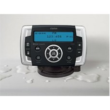 Clarion Marine CMS2 Waterproof Stereo with Smartphone Connectivity - Watertight Head Unit with Hideaway Black Box for Ultimate Weather Protection - CMS2 (117208))