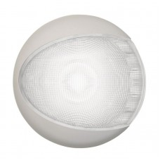 Hella EuroLED Light - Surface Mount, White Light with White Shroud (2JA959820521)