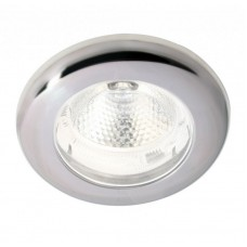 Hella SpotLED Light, White Light with White Ambient Ring and Satin Stainless Rim (2JA343980262)