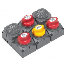 BEP Marinco Battery Switch Cluster with Digital VSR - 113688 (SUR 717-140A-DVSR)