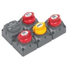 BEP Marinco Battery Switch Cluster with Digital VSR - 114078 (SUR 718-140A-DVSR)