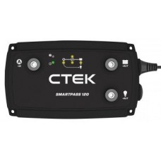 CTEK Smartpass 120 - DC to DC Battery Management - New 120A Model - Adds Functionality for High Output Charging (CTSmartpass120)